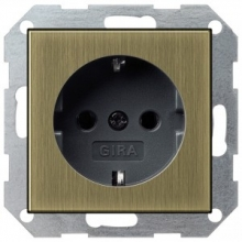 Розетка GIRA  system-55 0188603
