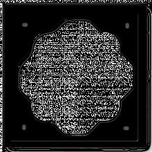 Рамка ABB IMPULS 1721-71