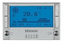 Bticino Axolute Алюминий Термостат электронный  HC4451