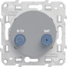 Розетка Schneider-Electric Odace  TV/SAT S53R455