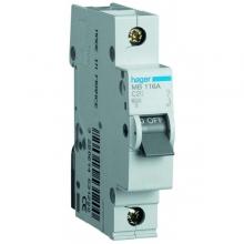 Автоматический выключатель Hager 1P 4,5kA C-40A 1M MY140