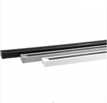 Шинопровод 1 метр 1M черный белый алюминий для светильников