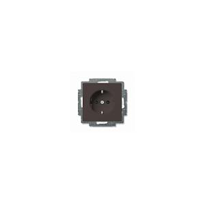 Розетка с заземлением  ABB Basic 55 20EUC-95-507