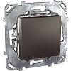 Schneider UNICA выключатель   графит MGU5 206 12ZD
